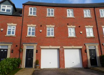 Thumbnail 3 bed town house to rent in Powder Mill Road, Latchford, Warrington