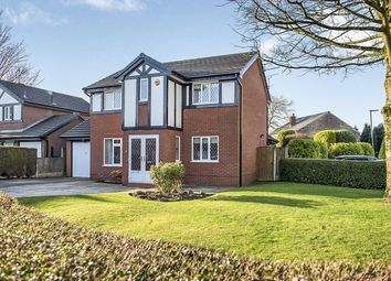 Thumbnail 4 bed detached house for sale in Sallowfields, Orrell, Wigan