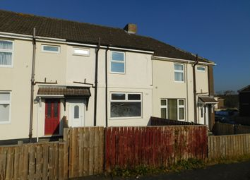 Thumbnail 2 bed terraced house to rent in Laburnum Terrace, Catchgate, Stanley