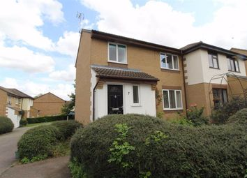 Thumbnail 3 bed end terrace house to rent in Kidd Close, Crownhill, Milton Keynes