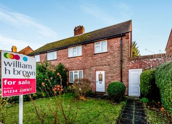 Thumbnail 3 bed semi-detached house for sale in Herbrand Road, Bedford