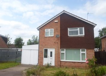 Thumbnail 4 bed detached house to rent in Butler Close, Rushey Mead