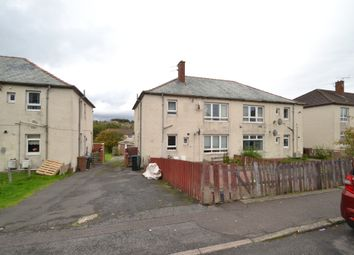 Thumbnail 2 bed flat for sale in Wylie Crescent, Cumnock, Ayrshire