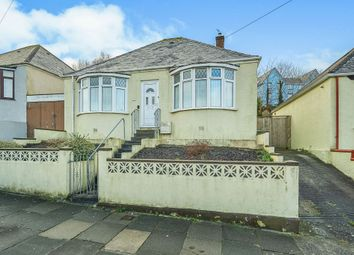 Thumbnail 2 bed detached bungalow for sale in Poole Park Road, Plymouth
