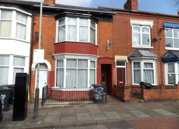 Thumbnail 6 bed terraced house to rent in Stuart Street, Leicester