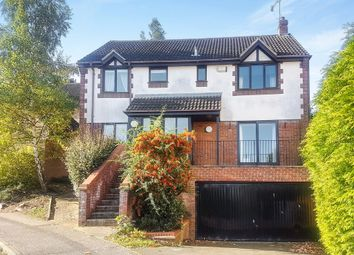 Thumbnail 4 bedroom detached house for sale in Grantham Crescent, Ipswich