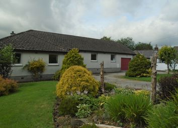 Thumbnail 4 bed detached bungalow for sale in Low Road, Hightae, Lockerbie