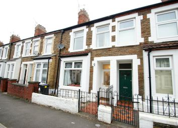 Thumbnail 2 bed terraced house to rent in Upper Kincraig Street, Roath, Cardiff