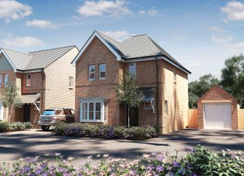 "Thumbnail 3 bedroom detached house for sale in ""The Whitfield"" at Oak Tree Road, Hugglescote, Coalville"