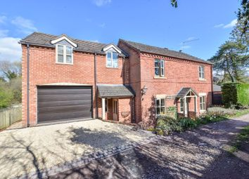 Thumbnail 4 bed detached house for sale in Dog Kennel Lane, Newtown, Market Drayton