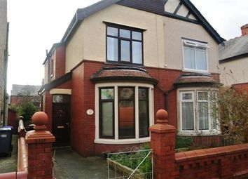 Thumbnail 2 bedroom semi-detached house for sale in Norwood Avenue, Blackpool