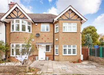 Thumbnail 4 bedroom semi-detached house for sale in Lyndhurst Gardens, Finchley, London