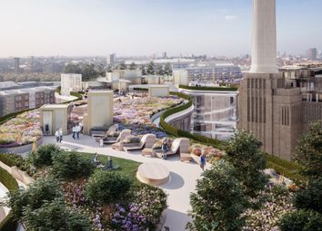 Battersea Power Station, Roof Garden Building, London SW11. 2 bed flat for sale