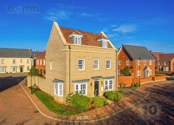 Thumbnail 4 bed detached house for sale in Baldwin Walk, Bedford Meadows, Bedford