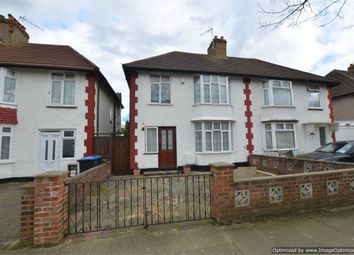 Thumbnail 3 bedroom semi-detached house to rent in Woodfield Avenue, Wembley, Greater London