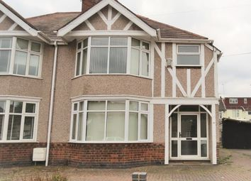 Thumbnail 3 bed semi-detached house to rent in Moseley Avenue, Counden, Coventry