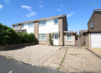 Thumbnail 3 bed semi-detached house for sale in Dean Close, Rushden
