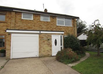 Thumbnail 3 bed semi-detached house for sale in Woodland Way, Ongar
