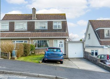 Thumbnail 3 bed semi-detached house for sale in Boslowick Road, Falmouth, Cornwall