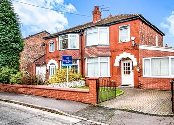 Thumbnail 4 bedroom semi-detached house for sale in Dorlan Avenue, Manchester