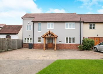 Thumbnail 4 bed semi-detached house for sale in North Street, Nazeing, Waltham Abbey