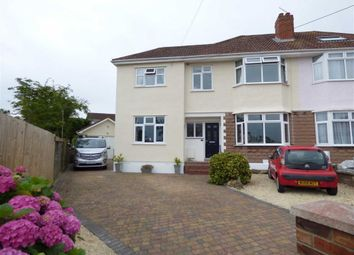 Thumbnail 6 bed semi-detached house for sale in Ranscombe Avenue, Worle, Weston-Super-Mare