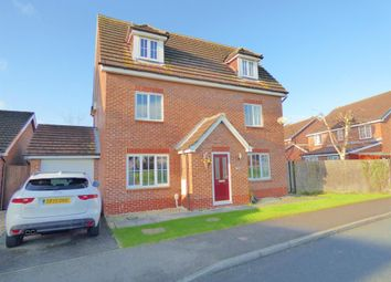Thumbnail 5 bedroom detached house for sale in Warwick Drive, Beverley