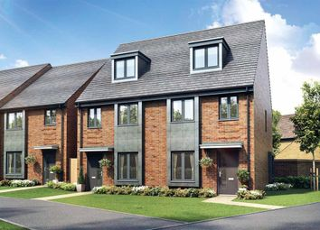 "Thumbnail 3 bed end terrace house for sale in ""The Braxton - Plot 120"" at Cheesemans Green Lane, Kingsnorth, Ashford"