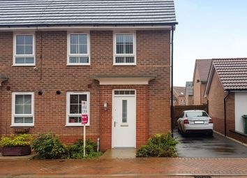 Thumbnail 3 bed end terrace house for sale in Wisdom Close, Fernwood, Newark