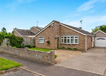 Thumbnail 3 bedroom detached bungalow for sale in Vicarage Close, Foulden, Thetford