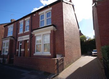 Thumbnail 3 bed semi-detached house for sale in Sandringham Avenue, Benton, Newcastle Upon Tyne