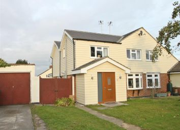 Thumbnail 5 bed semi-detached house for sale in Teignmouth Drive, Rayleigh