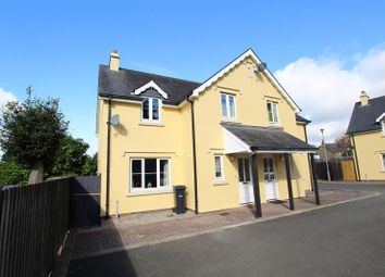 Thumbnail 3 bed semi-detached house to rent in Priory Court, Brecon