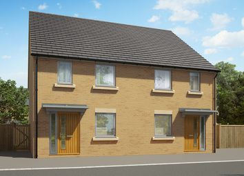 "Thumbnail 2 bedroom terraced house for sale in ""The Hardwick"" at Heron Road, Northstowe, Cambridge"