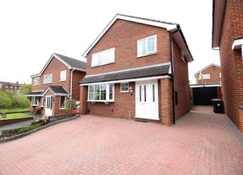 Thumbnail 3 bedroom detached house for sale in Sawyer Drive, Biddulph, Staffordshire