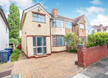 Thumbnail 3 bedroom end terrace house for sale in Lyndhurst Road, Greenford