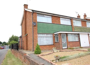 Thumbnail 4 bed semi-detached house for sale in Edinburgh Gardens, Claydon, Ipswich, Suffolk