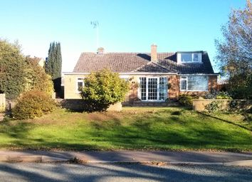 Thumbnail 4 bed detached bungalow for sale in Stamford Road, Ryhall, Stamford