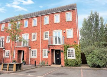 Thumbnail 3 bedroom town house for sale in Donnington Court, Dudley