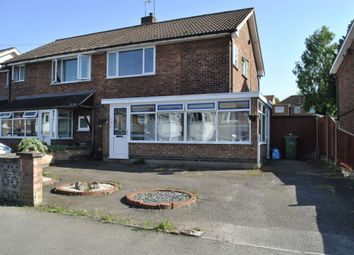 Thumbnail 3 bed semi-detached house to rent in Greenbank Drive, Oadby