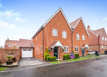 Thumbnail 3 bed semi-detached house for sale in Bloomery Way, Uckfield
