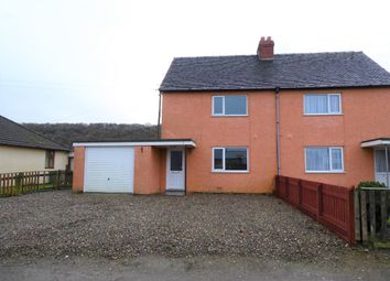 Thumbnail 3 bed semi-detached house to rent in Pride Hill, Alcaston, Church Stretton