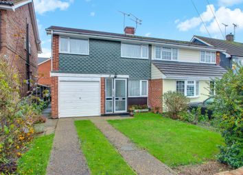 Thumbnail 3 bed semi-detached house for sale in Romsey Drive, Benfleet