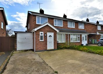 Thumbnail 3 bed semi-detached house for sale in Caithness Road, Stamford