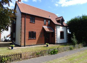 Thumbnail 4 bed detached house for sale in Church Road, North Lopham, Diss
