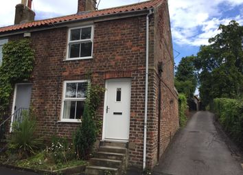 Thumbnail 1 bed terraced house to rent in East End, Walkington, Beverley