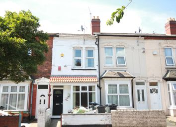 Thumbnail 3 bed terraced house to rent in Belmont Road, Handsworth