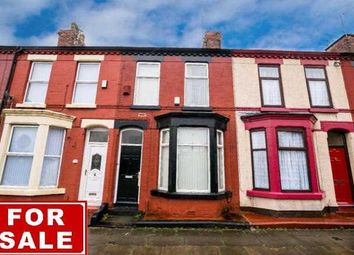 Thumbnail 3 bed terraced house for sale in Taunton Street, Wavertree, Liverpool