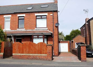 Thumbnail 4 bed semi-detached house for sale in Rothesay Terrace, Bedlington