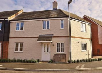 Thumbnail 3 bed link-detached house for sale in Downsberry Road, Kingsnorth, Ashford